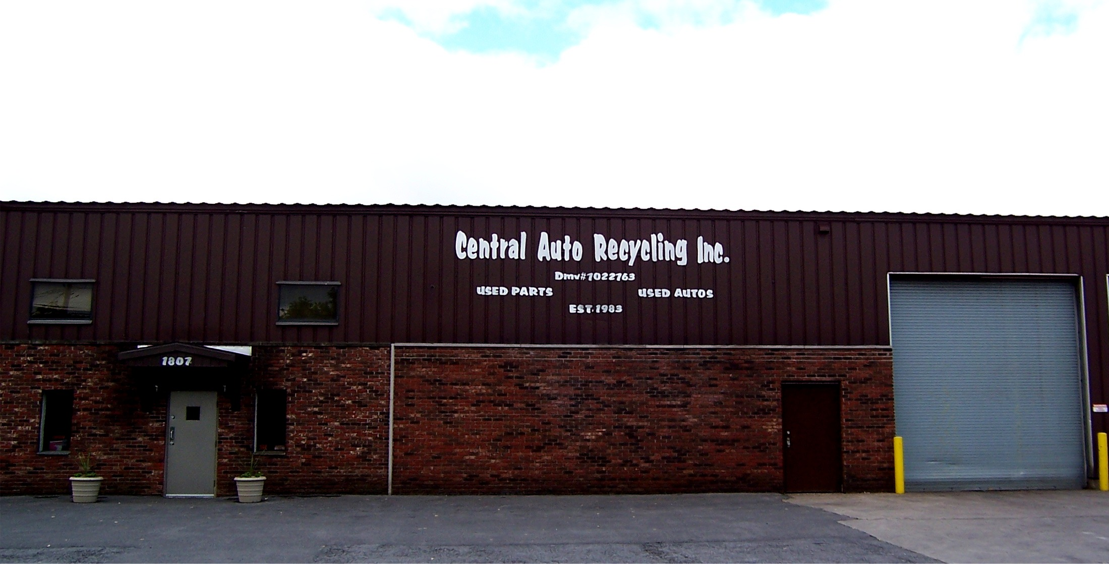 Central Auto Recycling, Inc. Home Office and Headquarters